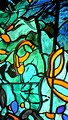 """Robinson College Chapel choir Piper stained glass window, """"Light of the World"""" (4767553744).jpg"""