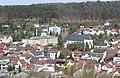 Rodalben, Blick vom Bruderfelsen zur Josefskirche.JPG