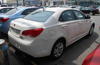 Roewe 550 - Image: Roewe 550 Hybrid facelift 02 China 2014 04 14