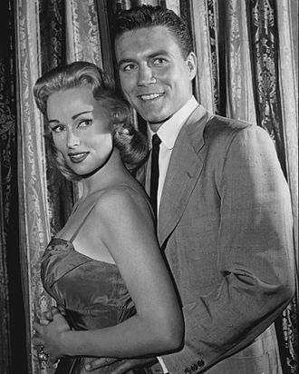 Karen Steele - With Roger Smith in 77 Sunset Strip, 1959