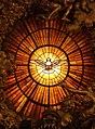 Rom, Vatikan, Basilika St. Peter, Die Taube des Heiligen Geistes (Cathedra Petri, Bernini).jpg