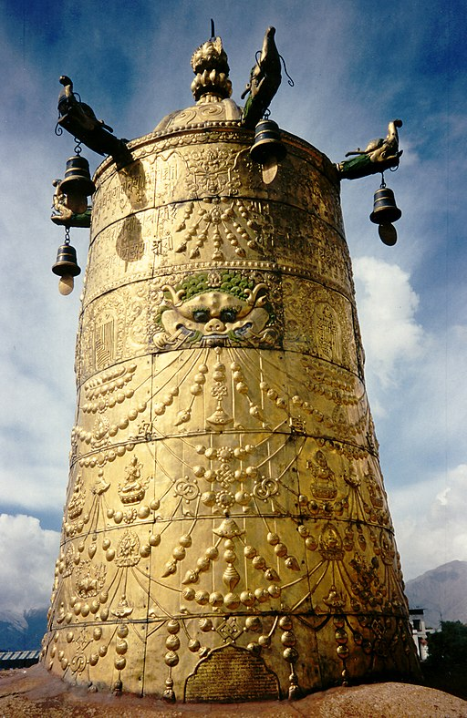 Roof of the Jokhang