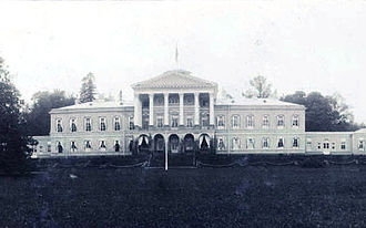 Ropsha - Palace of Ropsha in the early 20th century