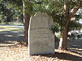 Rose Mahan Acres Monument, Monticello.JPG