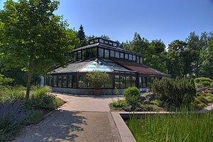 Rose Garden, Coburg - Palmhouse