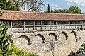 Rothenburg ob der Tauber, Stadtbefestigung, Vom Kummereck zum Galgentor, Stadtmauer, Stadtseite-20140422-001-2.jpg