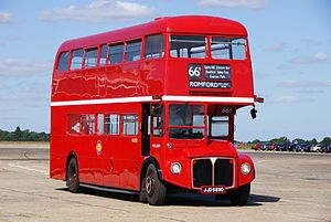 Routemaster RML2589 (JJD 589D), 2010 North Weald bus rally.jpg