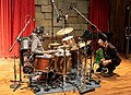 "Roy ""Futureman"" Wooten recording at Blackbird Studio.jpg"
