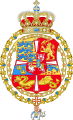 Royal Arms of King Frederick IV of Denmark and Norway.svg