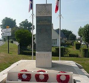 Ver-sur-Mer - Royal Artillery Monument