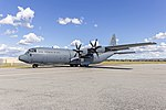 Royal Australian Air Force (A97-464) Lockheed Martin C-130J Hercules taxiing at Wagga Wagga Airport (1).jpg