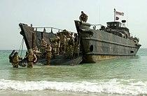 Royal Marines, landing craft utility, 26Feb2003.jpg
