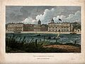 Royal Naval Hospital, Greenwich, with ships, rowing boats, r Wellcome V0013290.jpg