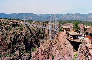 Cañon City, Colorado - Royal Gorge Bridge in 1987