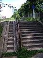Roztyly, schody od Michle ke Spořilovu, horní část.jpg