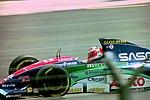 Rubens Barrichello - Jordan 194 at the 1994 British Grand Prix (32541340435).jpg