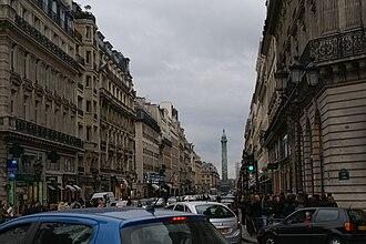 Rue de la Paix, Paris - Rue de La Paix from Place de l'Opéra