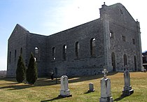 Ruins of St. Raphael's Church, South Glengarry, Ontario.jpg