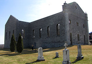 South Glengarry, Ontario - Ruins of St. Raphael's Church