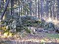 Ruiny altany Steffanruhe na szczycie Koziej Gory w Bielsku-Bialej.jpg