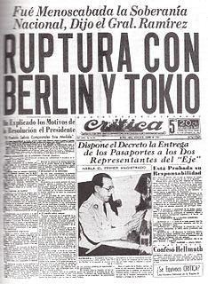 Argentina during World War II