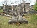 Sư tử đá của Chăm Pa tại Đồ Bàn đang còn.JPG