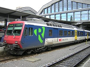 RBDe 562 003 in Basel SBB