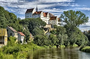 Colditz - Colditz Castle on the Mulde river