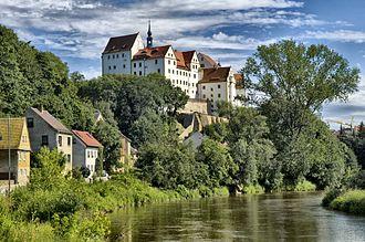 Colditz - Colditz Castle on the Mulde river