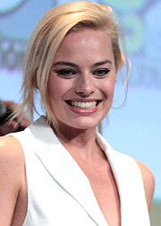 Margot Robbie al San Diego Comic-Con International nel 2015