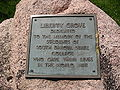 SDSU Liberty Grove plaque.JPG
