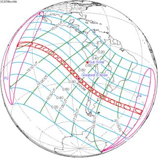 Solar eclipse of November 4, 2078