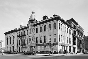 Spring Garden College - This building on the northeast corner of Broad St. and Spring Garden Ave. housed the institute from about 1851 to 1969 and was torn down in 1972