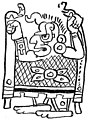 SMT D199 Maya tapestry or a temple curtain.jpg