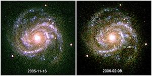 SN 2006X - Image: SN2006X