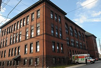 Steelton High School - The historic high school, now loft apartments