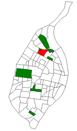 Location of Penrose within St. Louis