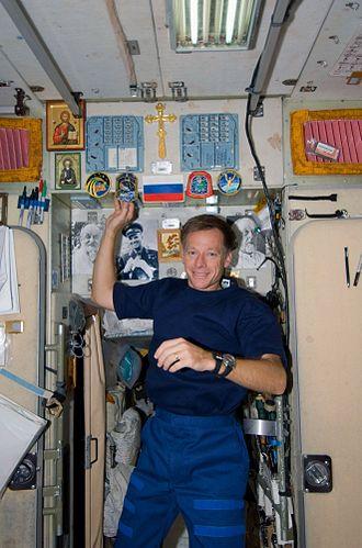 Christopher Ferguson - Image: STS 126 FD14 Ferguson Zarya
