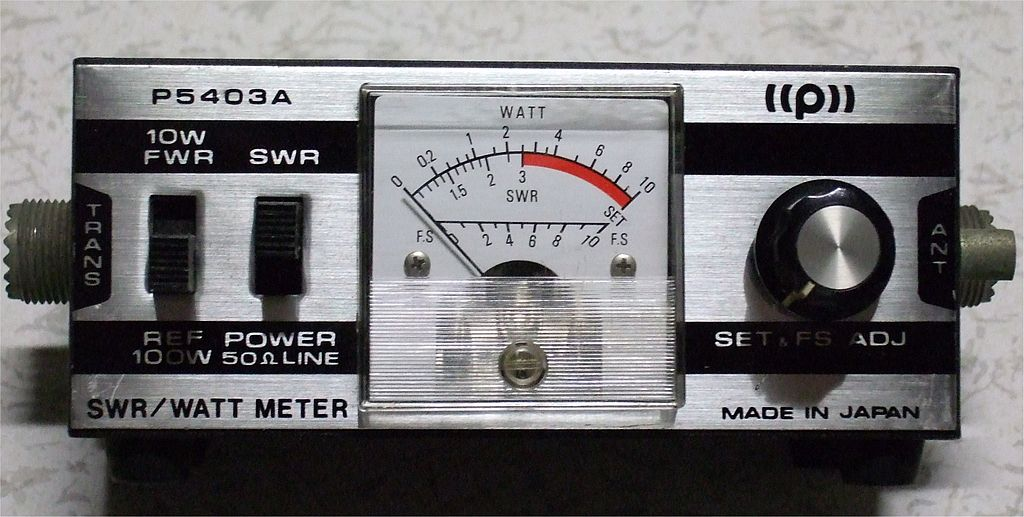 Multifunction Meter Front View : File swr power meter front view g wikimedia commons