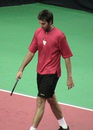 Sergio Roitman - Image: S Roitman 2006 Kremlin Cup