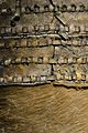 Sac de transport de pell bovina (detall), segle XIII aC. Mina de sal de Hallstatt.JPG