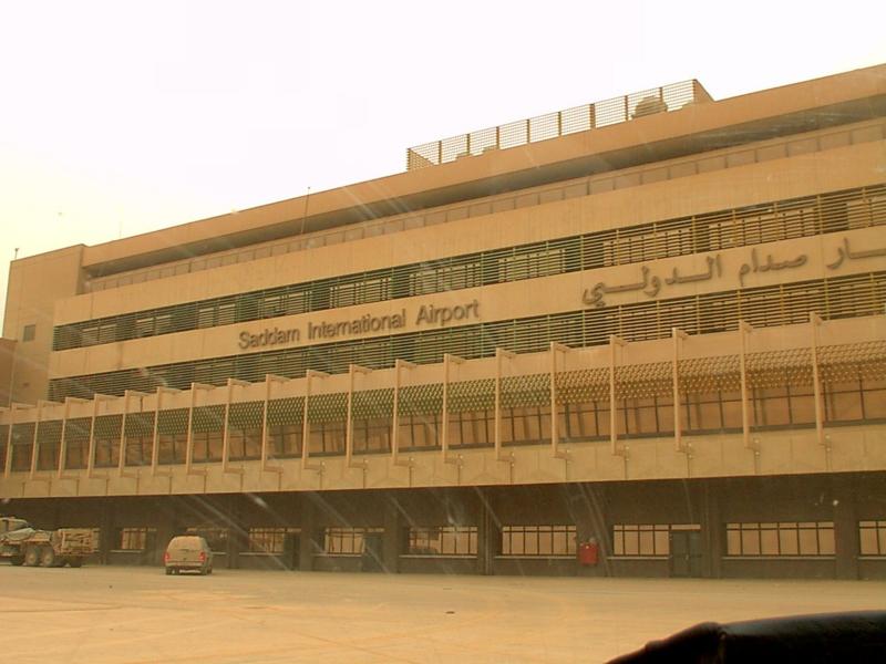 شهاده تاريخيه : أسطورة معركة مطار صدام الدولي في ابريل 2003  800px-Saddaminternationalair