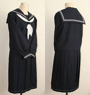 Japanese school uniform school uniform used in Japan