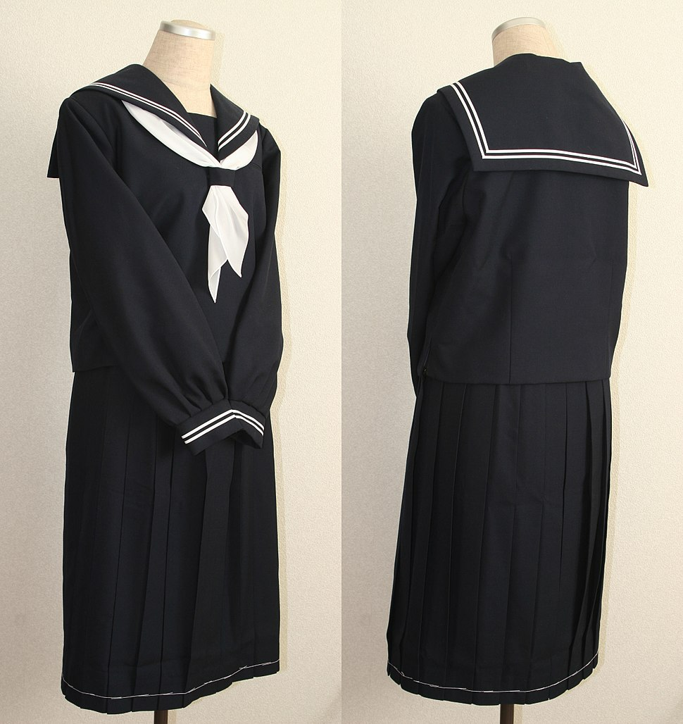 Sailor-fuku for winter