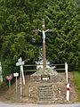 Saint-Martin-du-Tilleul (Eure, Fr) croix de chemin.JPG