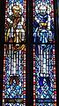 Saint Anthony of Padua Catholic Church (Dayton, Ohio) - stained glass, Sts. Basil the Great & John Chrysostom.JPG