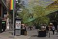 Saint Catherine Street, rainbow, Montreal 1.jpg