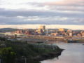Saint John, NB, skyline at dusk2.jpg