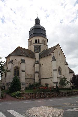 Saint-Victor, Allier - The church in Saint-Victor
