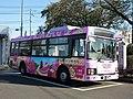 Sakuragawa City Bus at Sakuragawa city hall Iwase branch 02.jpg